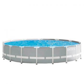 Intex Prism Frame zwembad rond 610 x 132 cm