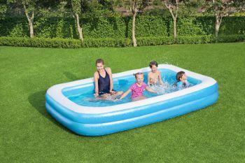 opblaasbaar zwembad rechthoek groot