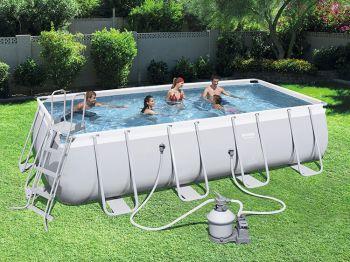 Bestway Power Steel zwembad 549 x 274 x 122 cm met zandfilterpomp