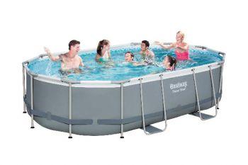 bestway zwembad ovaal 488x305x107 cm