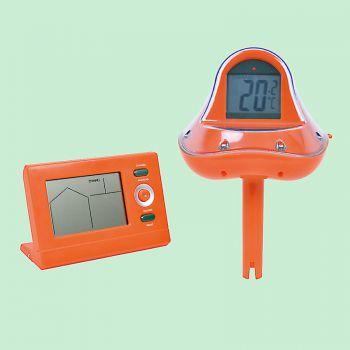 Zwembad Thermometer elektronisch met zender en ontvanger