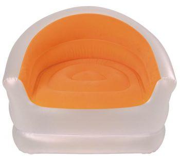 Opblaasbare Lounge stoel oranje