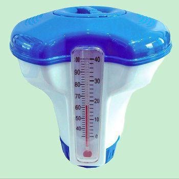 Chloordrijver met thermometer voor 20 gram tabs