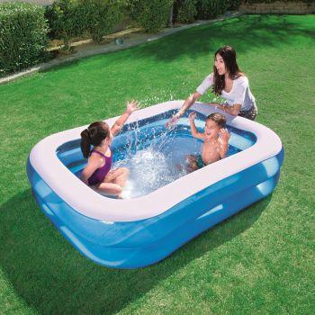 Familiezwembad rechthoek opblaasbaar 201x150x51