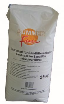 filter zand zwembad 25 kg