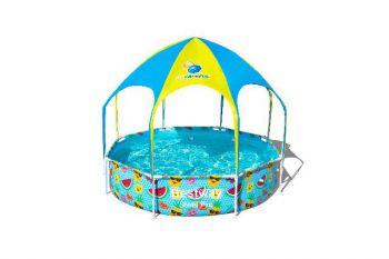 Opzetzwembad Bestway splash-in-shade rond 244x51cm