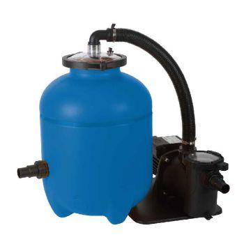 blue bay filterpomp speedclean 8m3/u incl polysphere